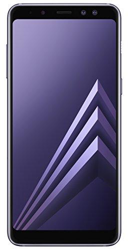Samsung Galaxy A8 2018 Duos Smartphone, 32GB, Lavender, Andere Versionen -