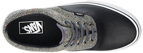 Vans Era, Baskets Basses Mixte Adulte Noir (Wool & Leather excalibur/black)