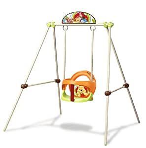 smoby 310225 jeu de plein air balan oire portique m tal baby swing b b s. Black Bedroom Furniture Sets. Home Design Ideas