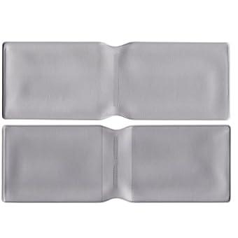 5x Silber Kunststoff Oyster Card Wallet Abdeckung/Halterung/