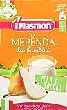 Plasmon Merenda Pera Yogurt - Pacco da 12 x 240 gr