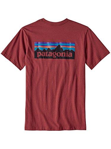 patagonia-t-shirt-uomo-adzuki-red-l