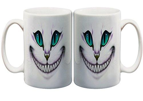 Mad Smiling Cat 11 Oz. Custom Mug (Womens Dog Mad)
