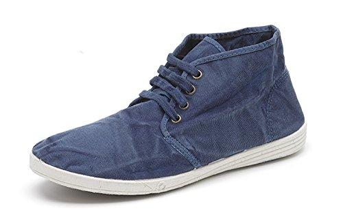 Mondo Naturale Eco ? Uomo Sneaker Sneakers Sneakers Canvas Shoes ? Scarpe Estive Per Il Tempo Libero Leggere - Materiali Eco Friendly - Vegan -306e 614