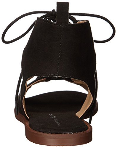 Chinese Laundry Guess Who Stoff Gladiator Sandale Black