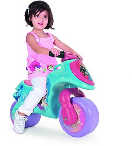 Injusa - Correpasillos Moto Neox, diseño de Frozen, color rosa y azul