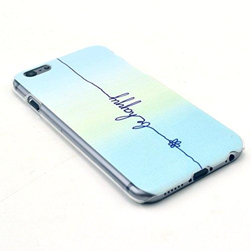 TIODIO® 4 en 1 Etuis Case Protecteur Hard Arrière Housse Coque Etui Case Cover pour Apple iphone 6S/iPhone 6 housse étui case cover, Stylus et Film protecteur inclus, B28 B42