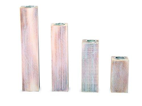Legler-candelabros en Color Blanco 4pcs