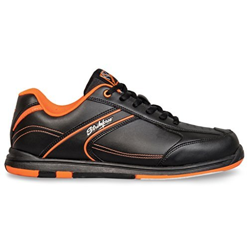 kr-strikeforce-m-034-090-flyer-bowling-shoes-black-orange-size-9-by-kr