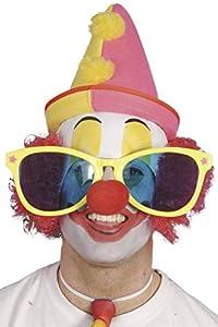 Smiffys Gafas de Sol Brillantes, Colores Brillantes Surtidos