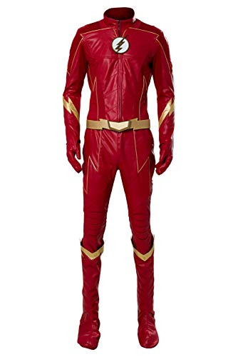 MingoTor Der Blitz Outfit Cosplay Kostüm Herren XL