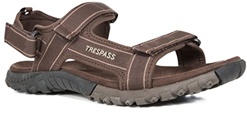 Trespass Alderley, Sandales Bout Ouvert Homme Brown (Cocoa Cca)