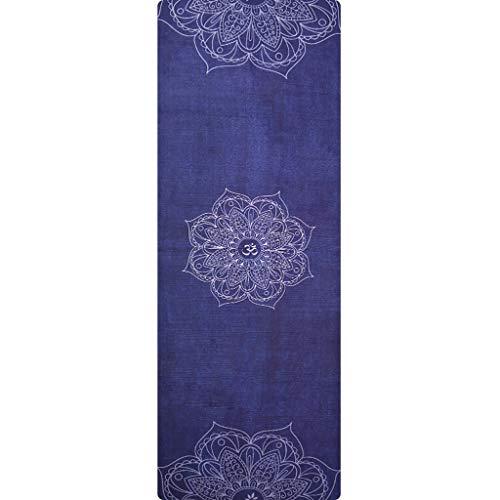 Yoga Matte naturkautschuk Yoga Matte Rutschfeste weibliche gepolsterte Handtuch tragbare faltmatte Hause Fitness Yoga Matte 178 * 61 cm SPFOZ (Color : F) Gepolsterte Rutschfeste