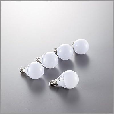 LED Lampe LED Leuchtmittel LED Birne LED Energiesparlampe LED Glühbirne LED Glühlampe LED Tropfen E14 tropfenform 5,5 Watt 470 Lumen ersetzt 40 Watt warmweiß 5er Set