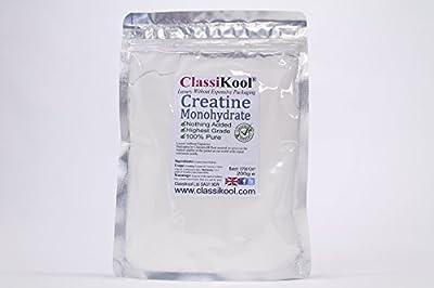 Classikool 1000g / 1kg Pure Creatine Monohydrate Anabolic Amino Acid Bodybuilding Powder