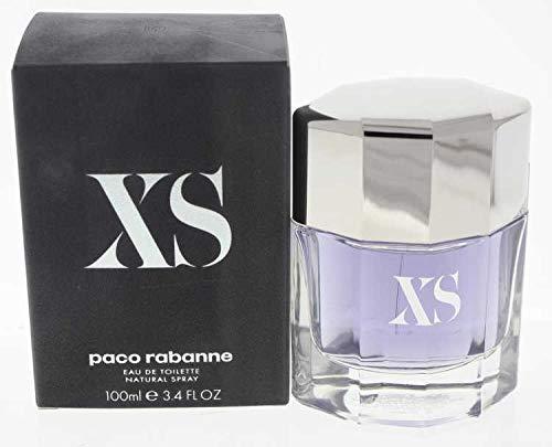 XS POUR HOMME par Paco Rabanne - 100 ml Eau de Toilette Vaporisateur