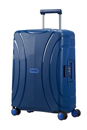American Tourister Lock N Roll Bagage Cabine, 55 cm, 37 L, Marine Blue