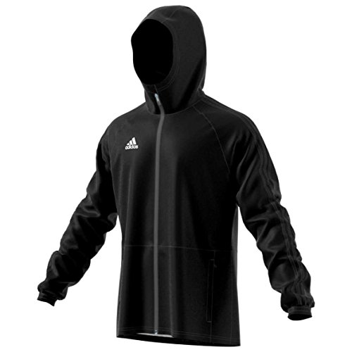 adidas Men s CONDIVO18  Rain Jacket Rain Coat  Men  BQ6528  black white  XXXL