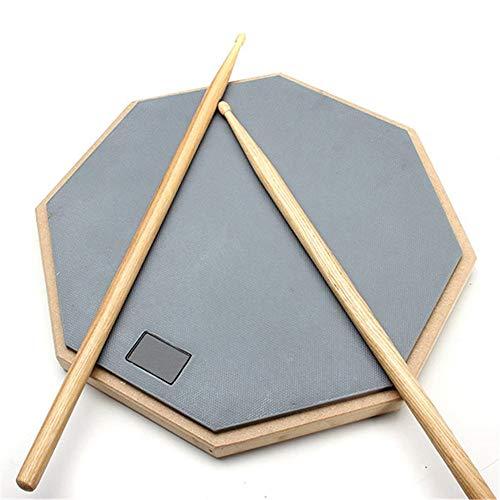 Holzbearbeitungswerkzeuge Drum Pad, Zebra 12-Zoll-Dumb Pad Übung Matte Schlagplatte Schlagzeuger Gummi Anfänger