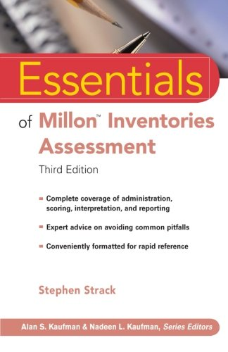 Essentials of Millon Inventories Assessment, Third Edition (Essentials of Psychological Assessment)