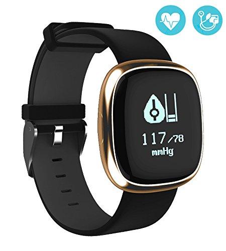 Palestra attività Tracker Smart Band frequenza cardiaca Monitor orologio passo Walking dormire contatore Wireless pedometro (Personalizzato Lenti A Contatto)