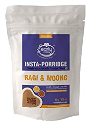 Early Foods - (Trial Pack) Instant Ragi & Moong Khichdi Mix 50g