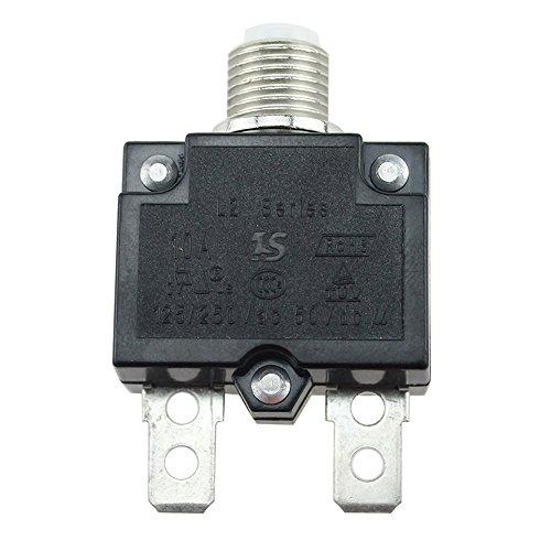 Panel de interruptores de circuito, interruptores de circuito térmico de 5 A/10...
