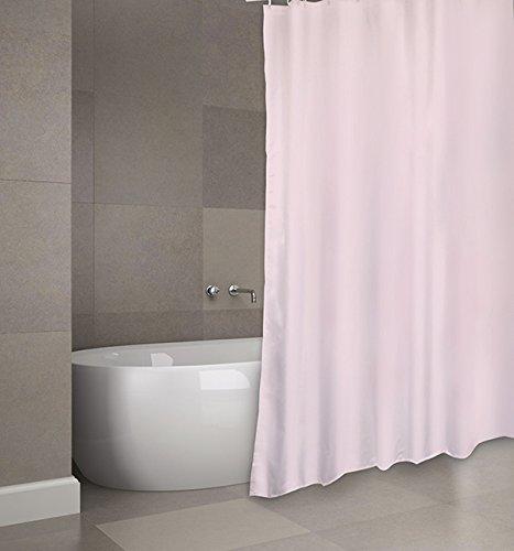 MSV Cotexsa by Premium Anti-Schimmel Textil Duschvorhang - Anti-Bakteriell, waschbar, 100% wasserdicht, mit 12 Duschvorhangringen -...