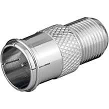 Wentronic - Conector rápido F, macho a hembra 11 unidades