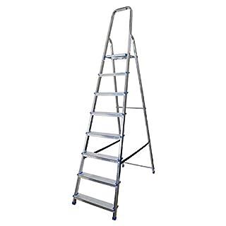 Abbey Aluminium Platform Step Ladder 8 Tread