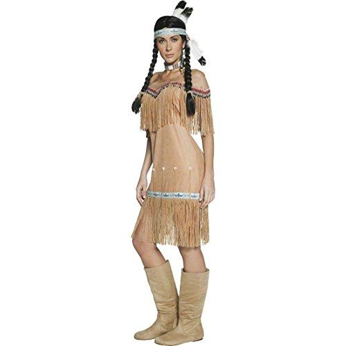 Imagen de traje de india o pocahontas disfraz aborigen mujer oeste alternativa