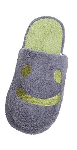 chaussons-reaso-beau-sourire-accueil-sol-stripe-doux-chaussures-40-gris