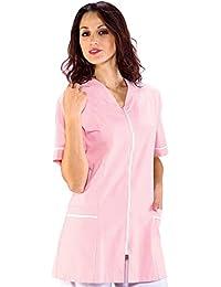 Y Bata Camisetas Blusas Amazon Camisas es Mujer Laboratorio C1XnUwq