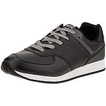 oodji Ultra Hombre Zapatos Deportivos con Acabado en Contraste