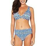Makefortune 2019 Sexy Bikini Set für Damen, Modischer Druck Beachwear Badeanzug