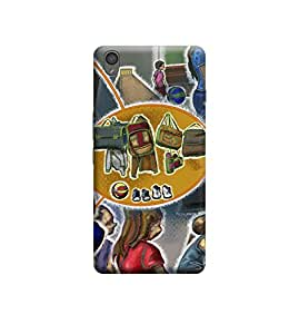 Ebby Premium Printed 3D Designer Back Case Cover For OnePlus Three (Premium Designer Cae)
