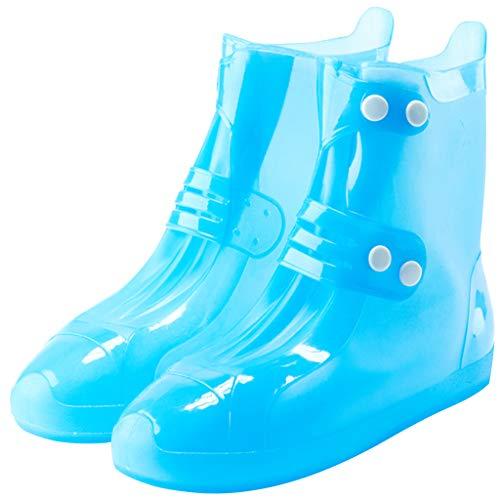 Kinder Regen Überschuhe Schuhüberzieher Wasserdichte - Mädchen Jungen Regenschutz Regenstiefel Mehrweg Schnee Schuhe Rutschfester Leichtgewicht Regen Schuhe