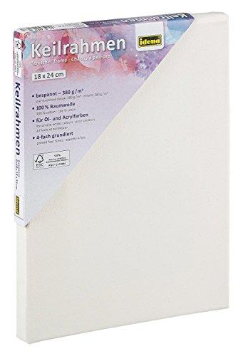 Idena 60030 - Keilrahmen für Öl und Acrylfarben, 18 x 24 cm -