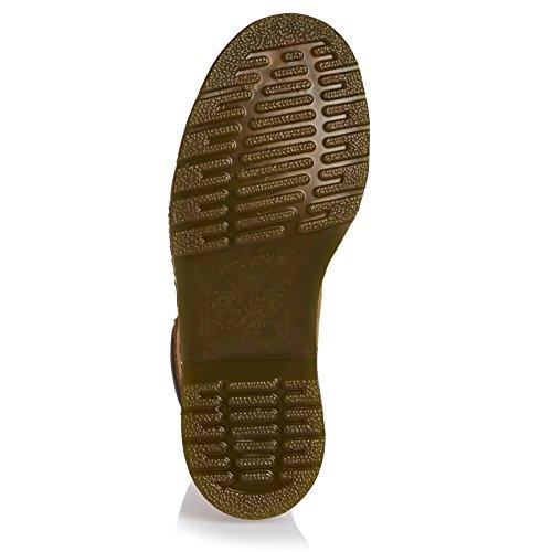 Dr.Martens Womens 939 6 Eyelet Soft Buck Nubuck Boots Bronzage
