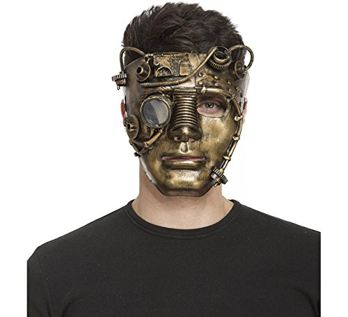 My Other Me Mascara de Steampunk Cara Completa