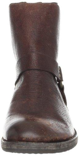 Frye Harness Hommes Cuir Botte Dark Brown
