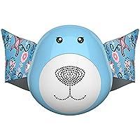 Biback - Máscara antigrasa para niños (antiadherente, antiadherente, antipolvo, máscara eléctrica inteligente, máscara de aire activa, evita la contaminación)