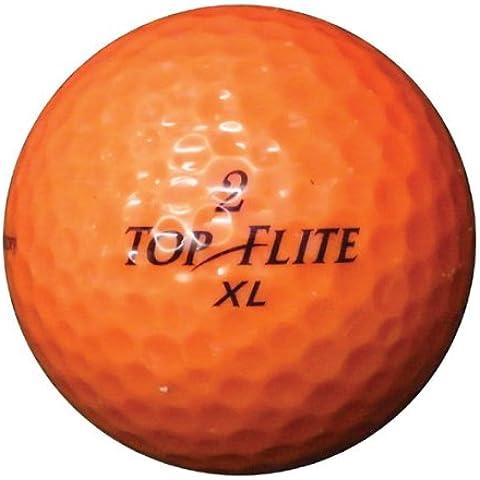 Longridge Palline da golf usate / Lakeballs, GradeB, 100Pezzi, Arancione,