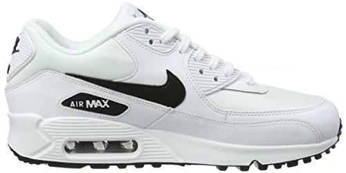 90 Max da 131 black Bianco Donna White Nike Scarpe Air Basse Ginnastica Tnqaxqw