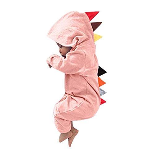 Dasongff Babyjunge Dinosaurier Mädchen Hoodie Kinderoverall Reißverschlußkleidung für Kinder OverallWarme süße Nachtwäsche Pyjamas Kletteranzug Ha Yi Cosplay - Einfache Rapunzel Kostüm