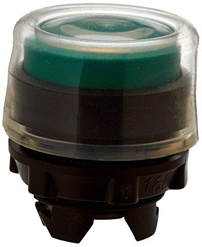 Schneider ZB5AP3 Frontelement rund für Drucktaster, ohne Rastung, vorstehend, neutral, grün, durchmesser 22 cm
