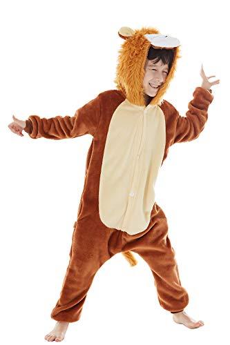 Lion Pyjama Kostüm - INFLATION Kinder Pyjamas Cosplay Jumpsuit Einteilig