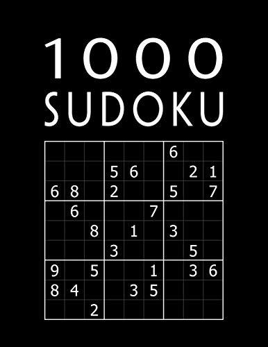 SUDOKU 1000: Jeu Classique | Collection XXL Pour Adultes | Avec Solutions | Niveau: facile - moyen - difficile - diabolique par  Mega Sudoku 1000