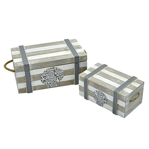 Caja-joyero-para-mesa-en-madera-decorado-con-motivos-marineros-juego-de-2-cajas-Pequeo-y-Grande