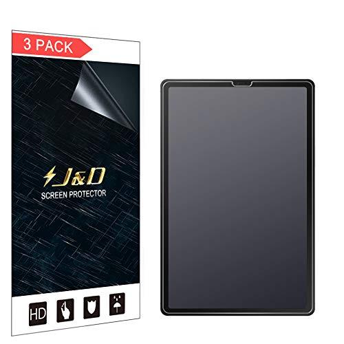 JundD Bildschirmschutzfolie für Samsung Galaxy Tab S5e, blendfrei, Anti-Fingerabdruck, Nicht volle Abdeckung, matt, Bildschirmschutzfolie für Samsung Galaxy Tab S5e, matt, 3 Stück